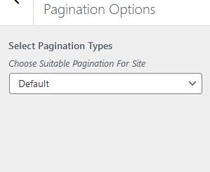 Happy Blog Pro Pagination Types
